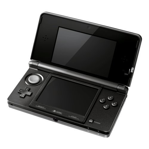 Used-Nintendo 3DS Handheld Console-Cosmo Black (With Box)