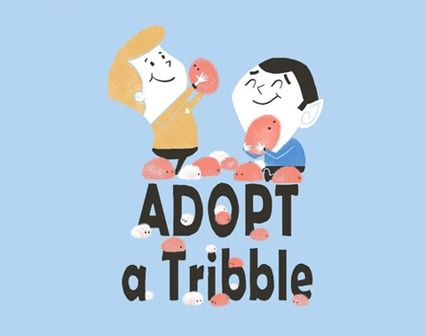 Adopt a Tribble: Limited Edition Ts, no re-stocks