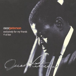 Used-Oscar Peterson-Exclusively For My Friends (4 CD Box)