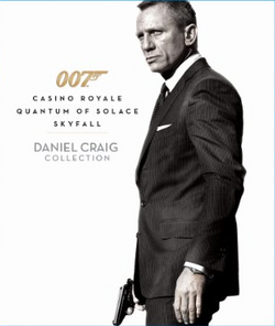 Used-007 Daniel Craig Collection: Casino Royale/Quantam of Solace/Skyfall