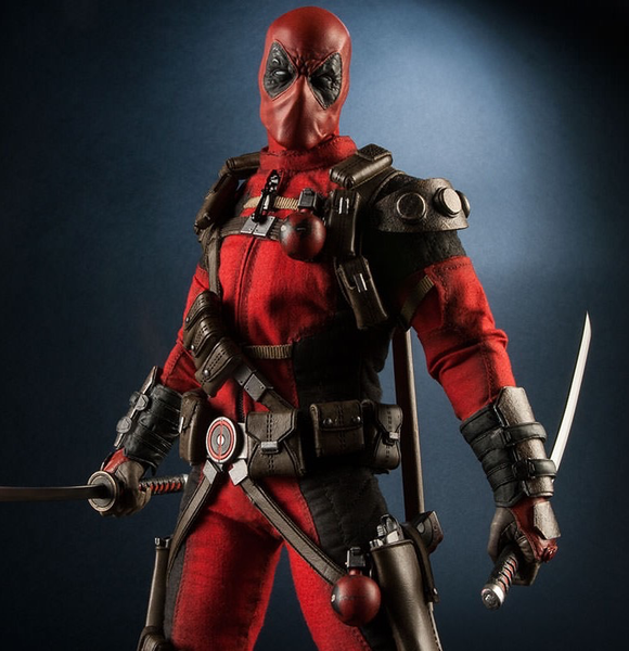 Deadpool Sixth Scale Action Figure (Complete In Box)