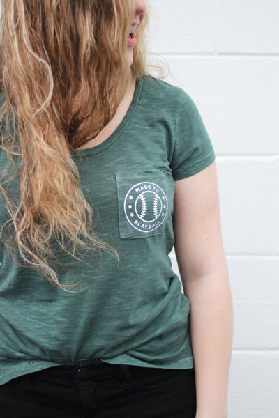 made to play dusty pine tee