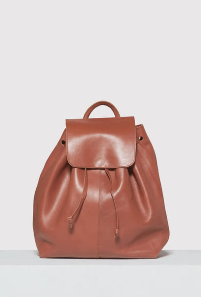 Brown leather Moyi Moyi backpack