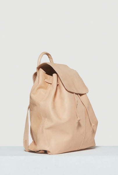 Beige leather Moyi Moyi backpack