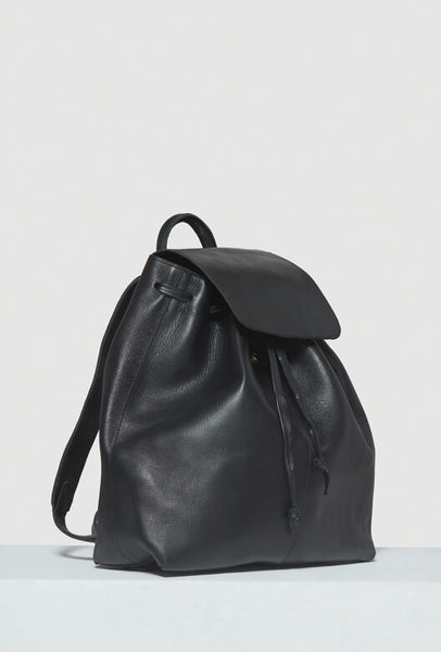 Black leather Moyi Moyi backpack