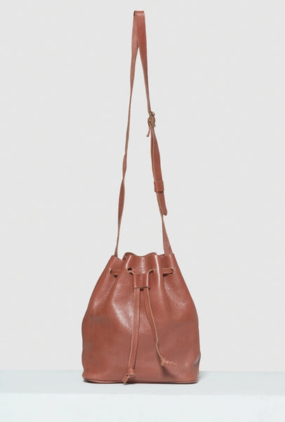 Bucket Bag Leather Brown