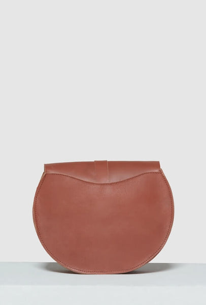 Crossbody bag brown backside