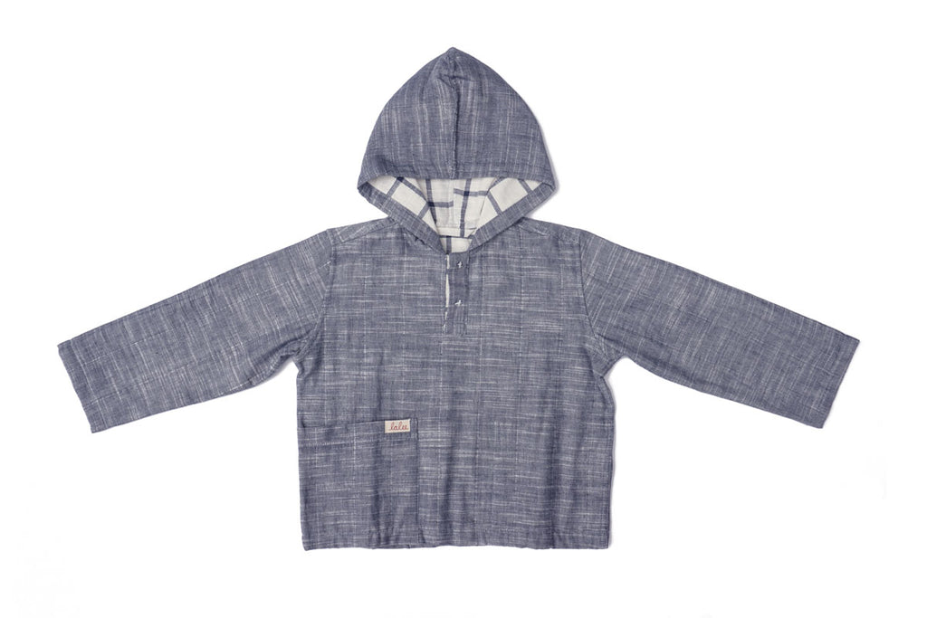 Birch Indigo Reversible Sweatshirt