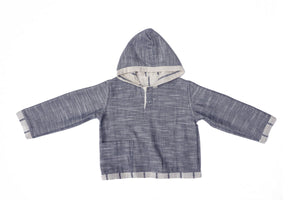 Aspen Stripes Reversible Sweatshirt
