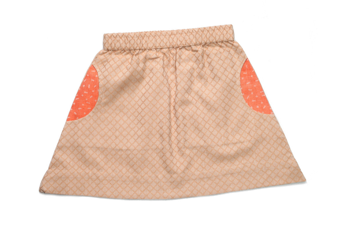 Handwoven Organic Cotton Skirt