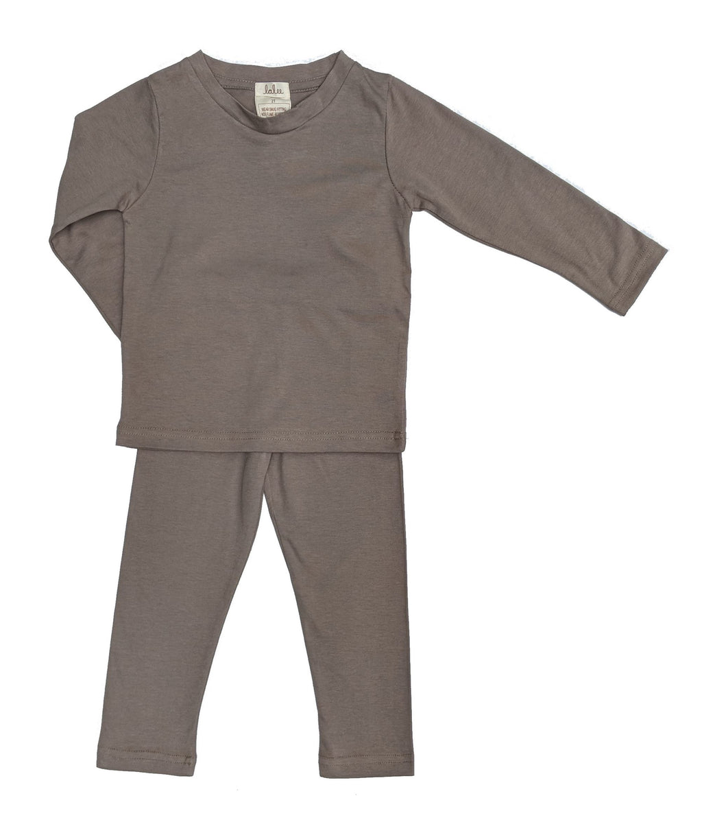 Organic Cotton Pajamas Set - Gray