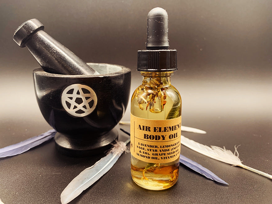 Air Element Body Oil