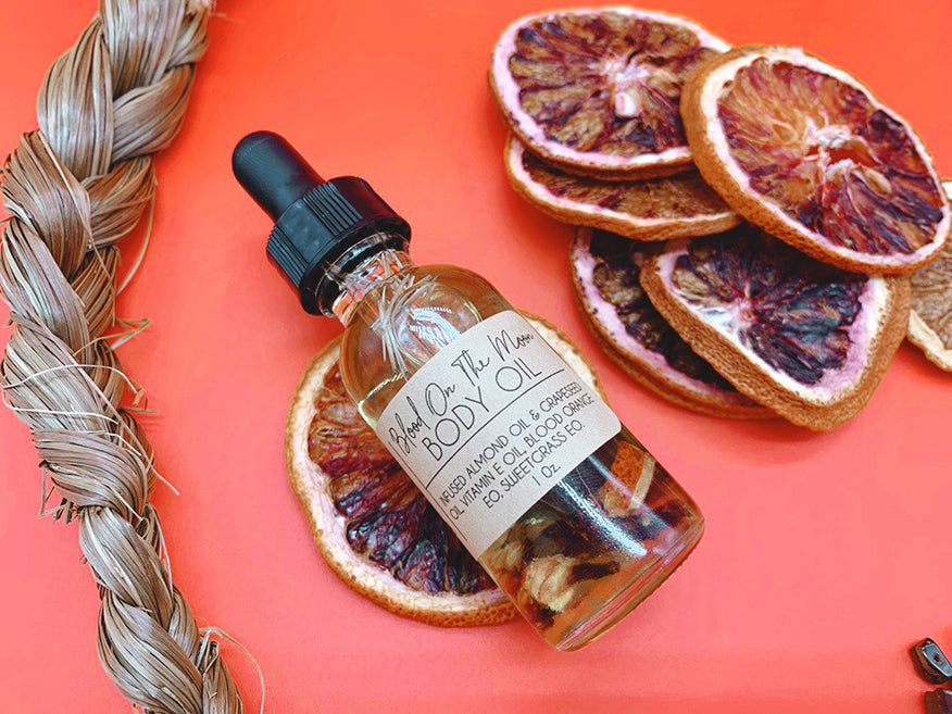 Blood On The Moon Body Oil