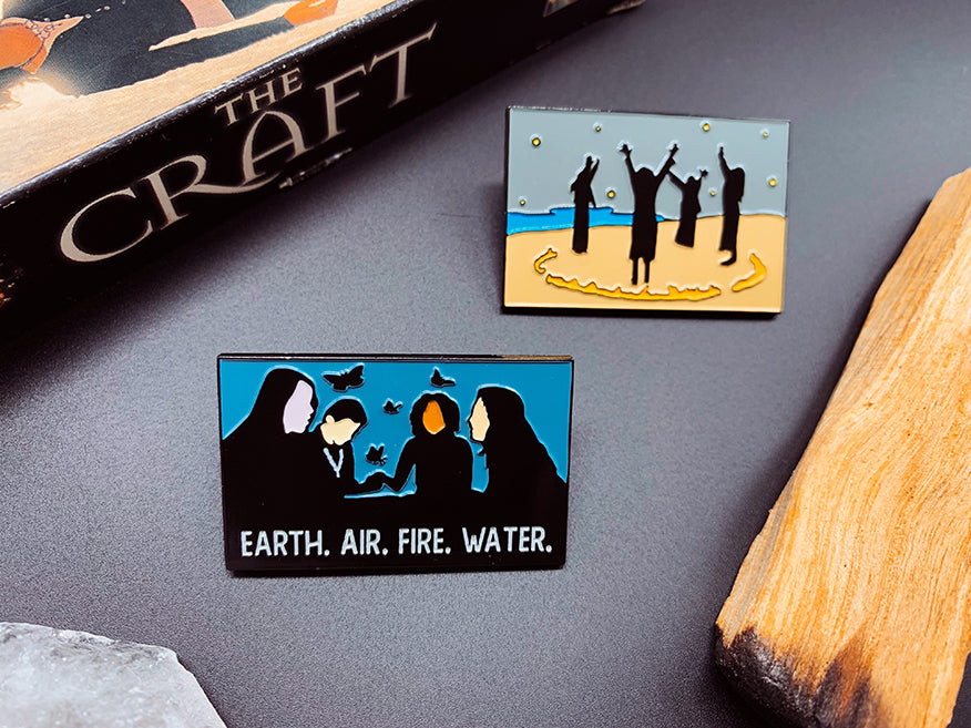 """The Craft"" Enamel Pin Set"