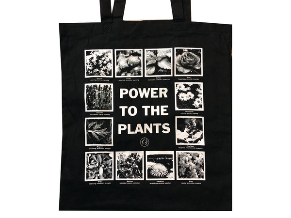Power To The Plants Tote Bag
