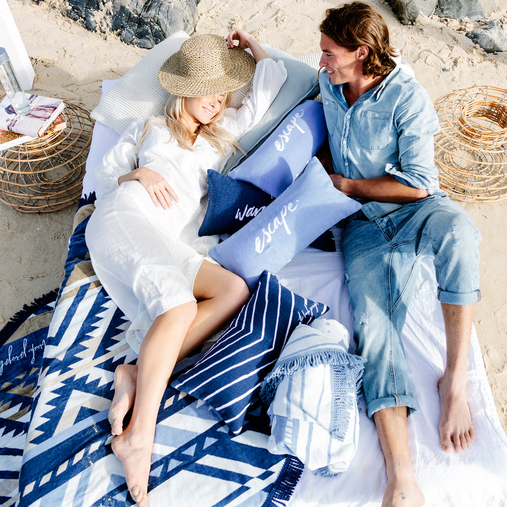 The Beach People Pillow & Towel Assortments