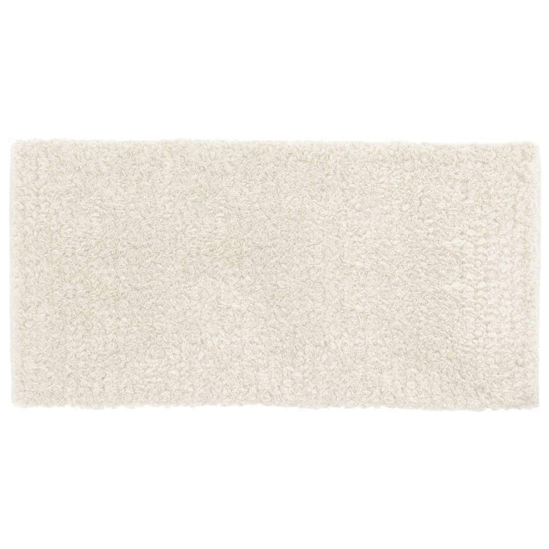 AkQuarel Bathroom Mats 50x80 / White PETALO | Bath Mat & Rug