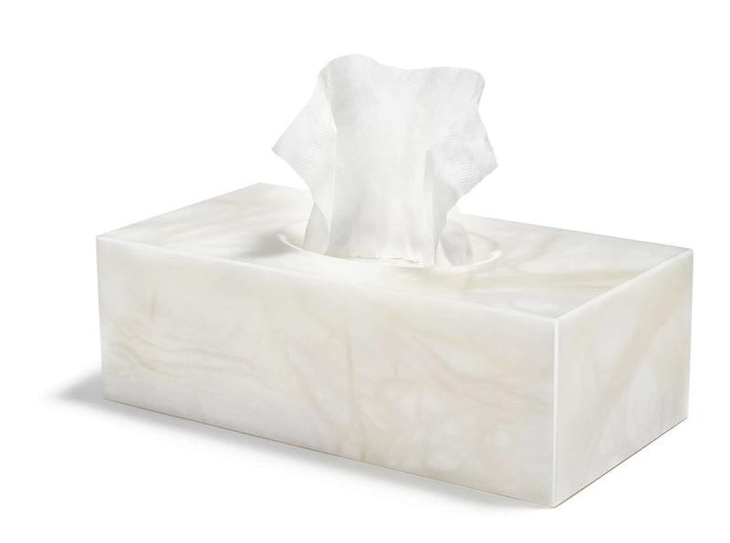 Anna by RabLabs Soap Pump rectangle BIANCO TISSUE BOX