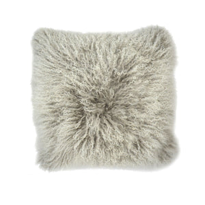 Aviva Pillow MONGOLIAN IN DOUBLE DIPPED SILVER