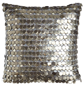 Aviva Pillow PEWTER TEADROP