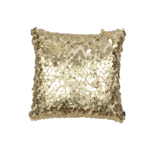 Aviva Pillow SANDWASHED GOLD TEARDROP