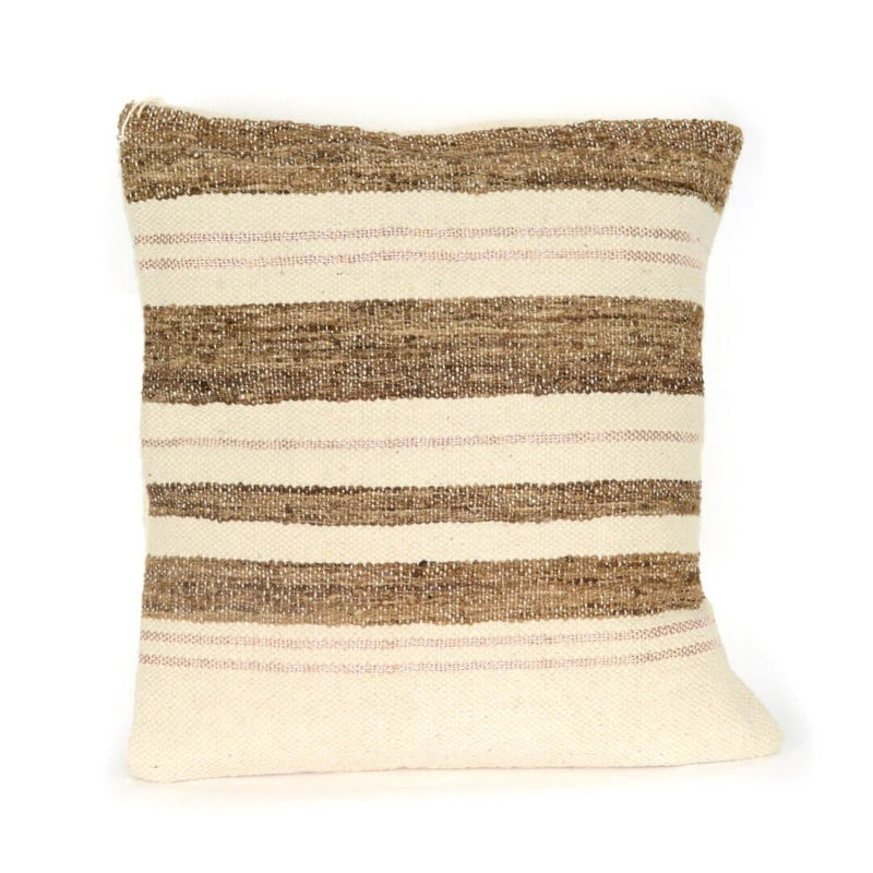 Aviva Pillow WILD SILK IN CHALK