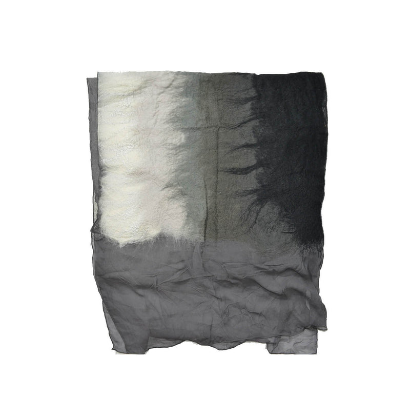 Aviva Throws & Blankets ALCHEMY OMBRE ONYX THROW