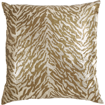 Callisto Pillow Gold Sequin/Bronze Sequin, 22x22