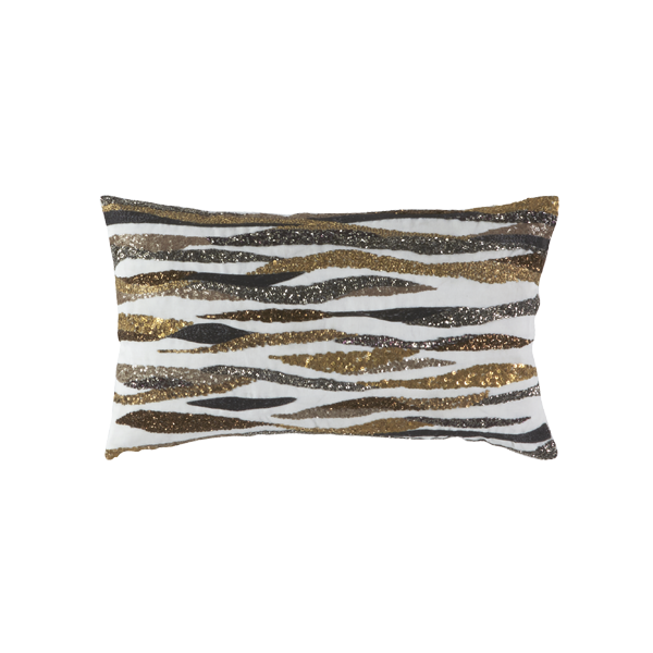 Callisto Pillow METALLIC LINEN