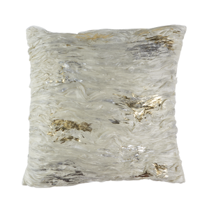 Callisto Pillow SILVER & GOLD ORGANZA