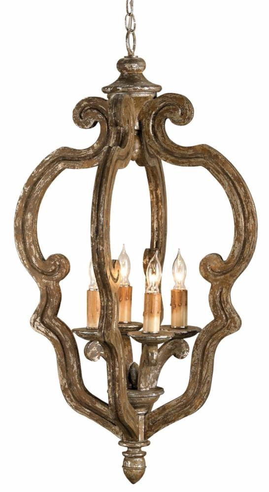 Currey & Company Chandelier CHANCELLOR SMALL CHANDELIER
