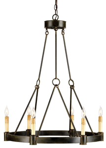 Currey & Company Chandelier CHANTELAINE CHANDELIER