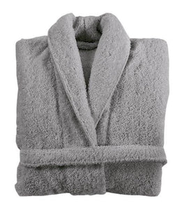 Graccioza Bathrobe M / Anthracite HERITAGE LONG LOOP BATHROBE