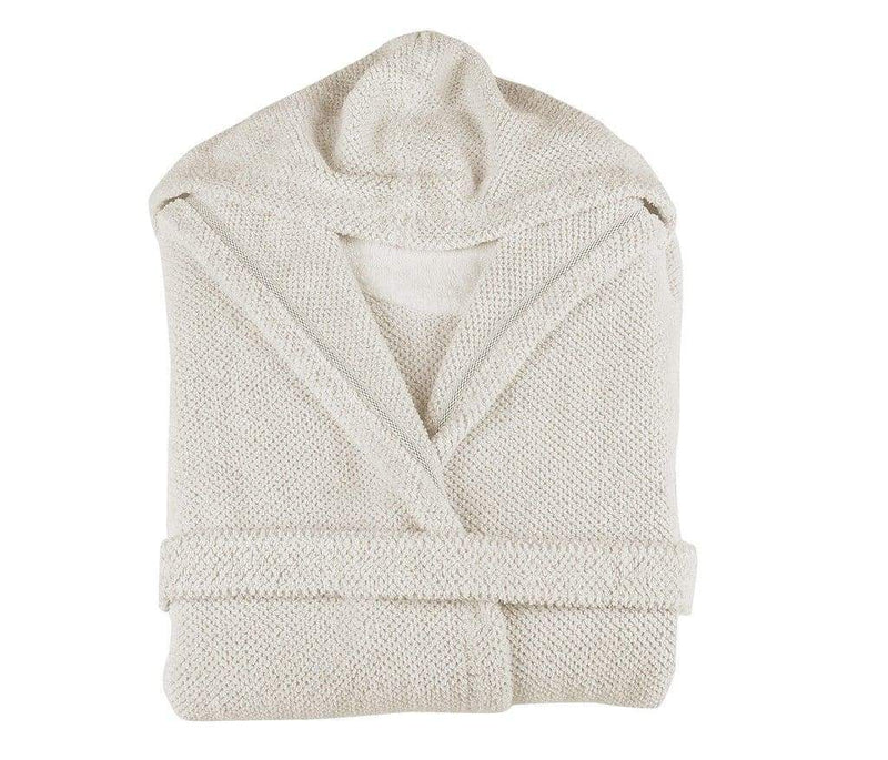Graccioza Bathrobe S / Natural Linen Waffle | Bathrobe