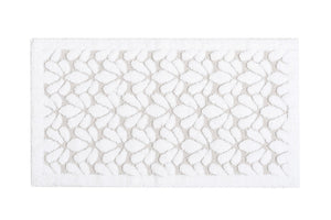 "Graccioza Bathroom Mats 20""x31"" / White / Cotton Grace 