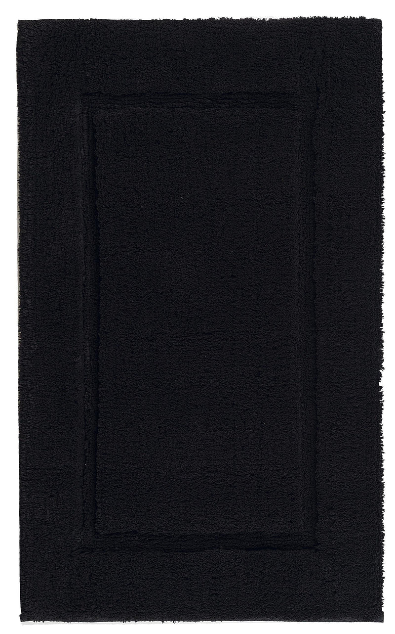 Graccioza Bathroom Mats 20x31 / Black BLACK | PRESTIGE BATH RUG