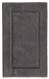 Graccioza Bathroom Mats 20x31 / Dark Anthracite Dark Anthracite | Prestige Bath Rug