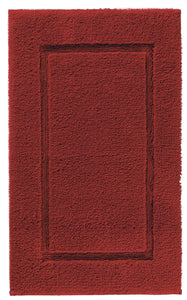 Graccioza Bathroom Mats 20x31 / Red PRESTIGE BATH RUG IN