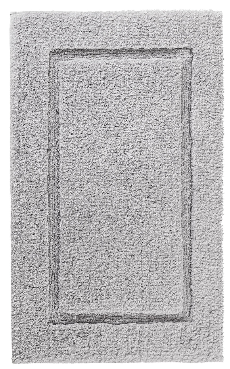 Graccioza Bathroom Mats 20x31 / Silver PRESTIGE BATH RUG IN