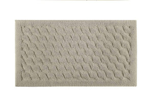 Graccioza Bathroom Mats 20x31 / Stone Wave | Bath Mats & Rugs
