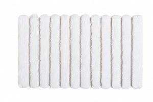 Graccioza Bathroom Mats 20x31 / White / Cotton Petra Bath Mats & Rugs