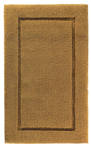 "Graccioza Bathroom Mats 24""x39"" / Gold OPULENT SILK BATH RUG"
