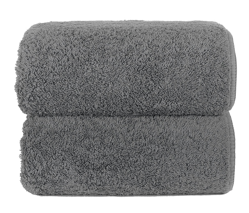 Graccioza Bathroom Towels Glove / Anthracite HERITAGE LONG LOOP TOWEL