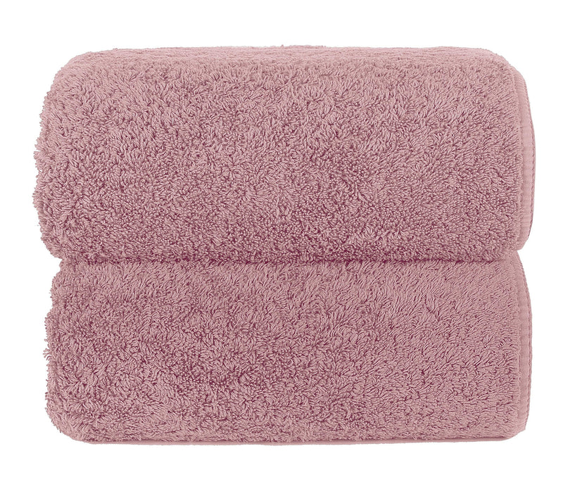 Graccioza Bathroom Towels Glove / Blush BLUSH | HERITAGE LONG DOUBLE LOOP TOWEL