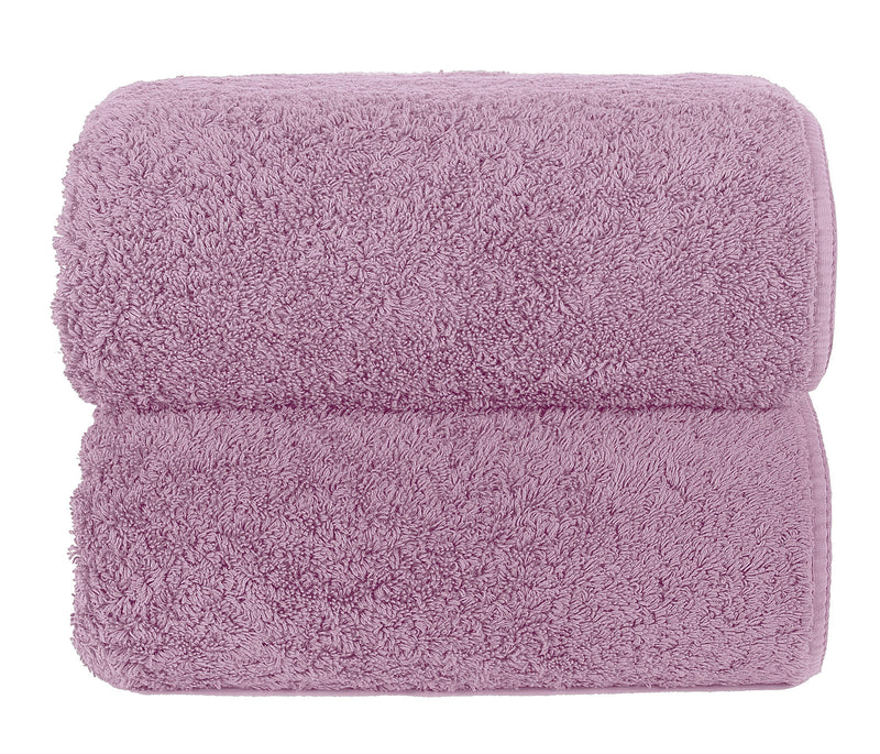 Graccioza Bathroom Towels Glove / Deep Lilac DEEP LILAC | HERITAGE LONG DOUBLE LOOP TOWEL