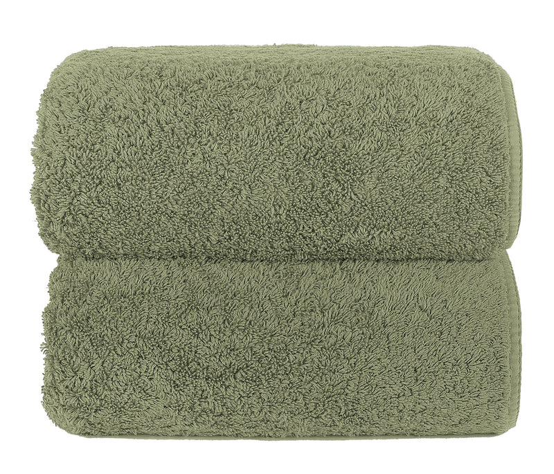 Graccioza Bathroom Towels Glove / Field FIELD | HERITAGE LONG DOUBLE LOOP TOWEL