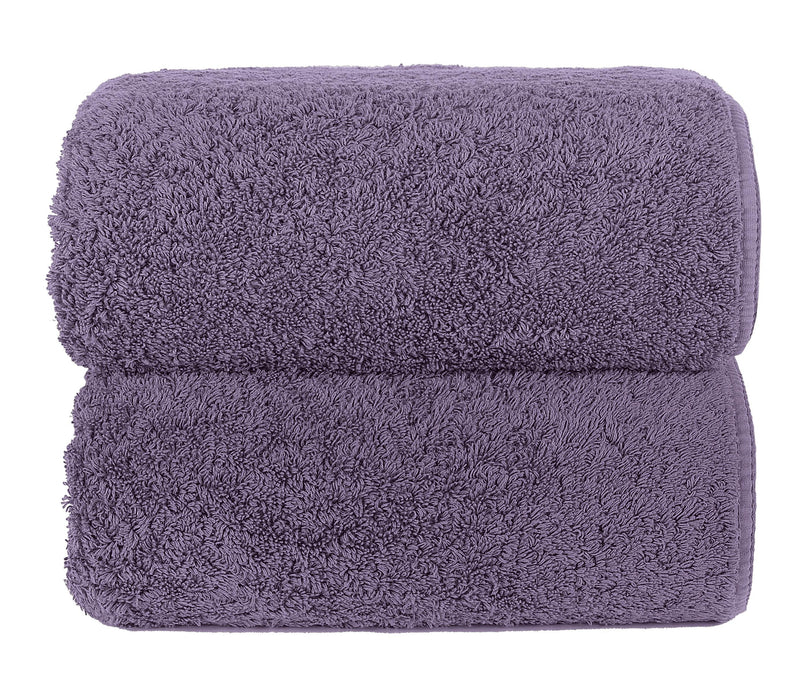 Graccioza Bathroom Towels Glove / Lavender LAVENDER | HERITAGE LONG DOUBLE LOOP TOWEL