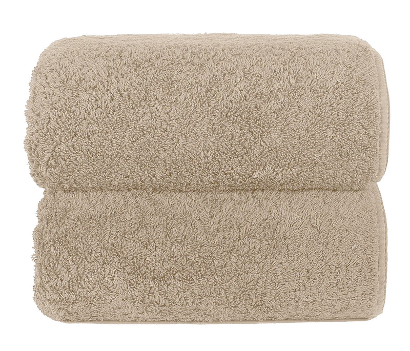 Graccioza Bathroom Towels Glove / Linen HERITAGE LONG DOUBLE LOOP TOWEL IN LINEN