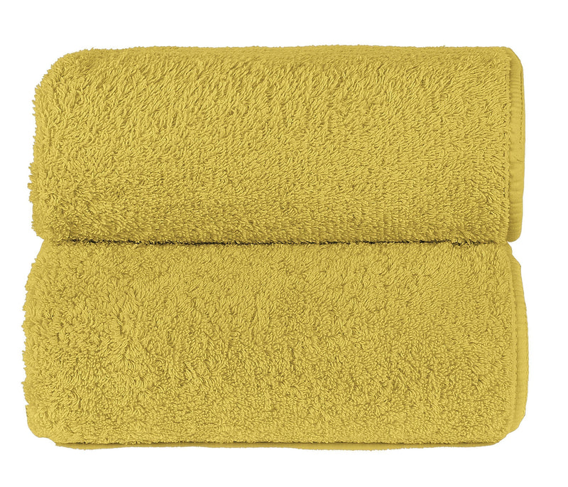 Graccioza Bathroom Towels Glove / Mustard MUSTARD | HERITAGE LONG DOUBLE LOOP TOWEL