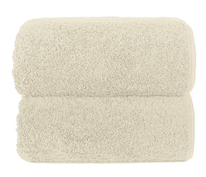 Graccioza Bathroom Towels Glove / Natural HERITAGE LONG DOUBLE LOOP TOWEL IN NATURAL